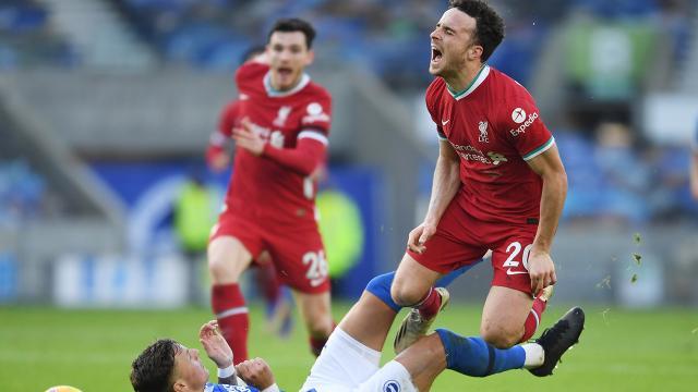 Liverpoolda Diogo Jota en az 6 hafta yok
