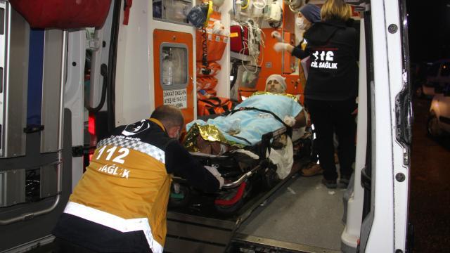 Konyada apartmanın teras katında tüp patladı: 3 yaralı