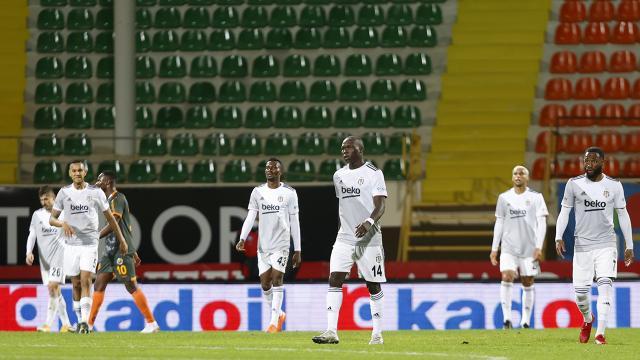 Beşiktaş deplasmanda kalesini gole kapatamıyor