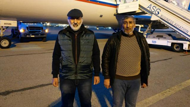 Ermenistanın esir tuttuğu iki Azerbaycanlı serbest bırakıldı
