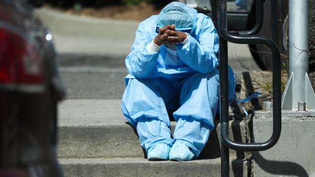 ABDde koronavirüsten ölüm sayısı artıyor