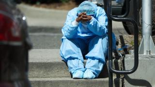 ABD'de koronavirüsten hastaneye yatışlarda artış