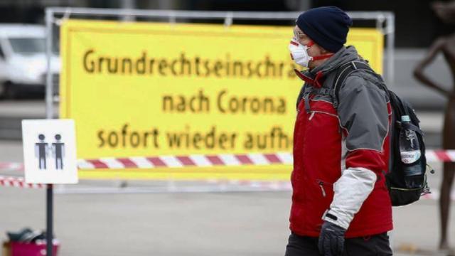 Almanyada 560 kişi daha koronavirüsten öldü