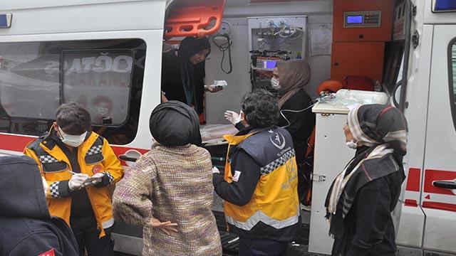 Diyarbakırda mağaza yangını: 7 kişi dumandan etkilendi