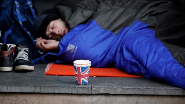 Birleşik Krallıkta geçen yıl 976 evsiz öldü