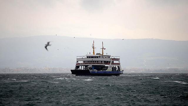 Güney Marmarada bazı feribot seferleri iptal edildi