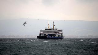 Bursa-İstanbul deniz ulaşımına fırtına engeli
