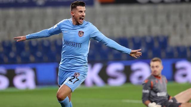 Gaziantep FK, yenilmezlik serisini 10 maça çıkardı