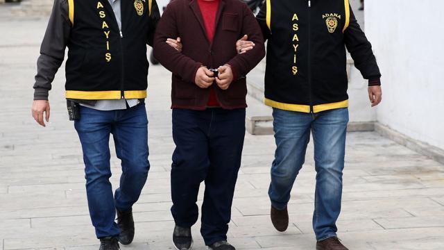 Adanada 19 yıl kesinleşmiş hapsi bulunan hükümlü yakalandı