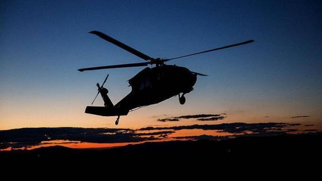 Kübada askeri helikopter düştü: 5 ölü