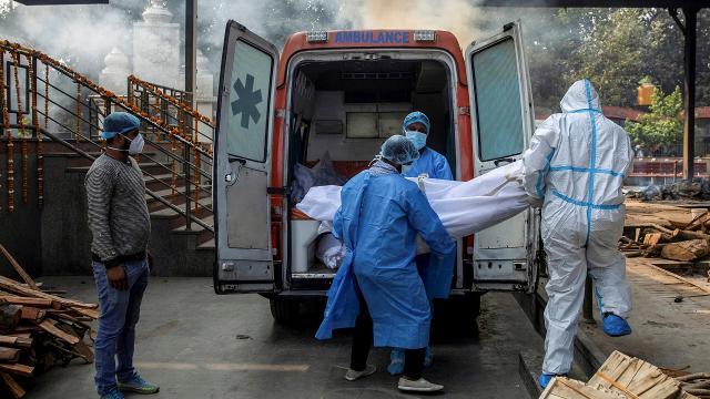 Hindistanda 354 kişi daha koronavirüsten öldü