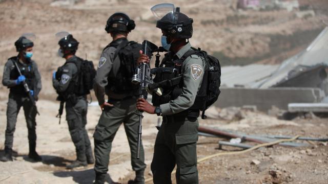 İsrail askerlerinden Filistinlilere saldırı: 2 yaralı