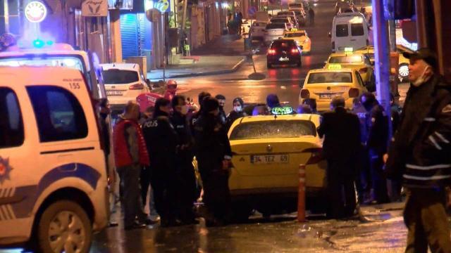 İstanbulda bekçilere saldırı