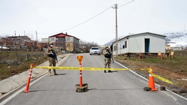 Adıyamanda 83 ev karantinaya alındı
