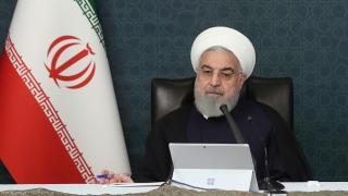Ruhani: ABD'nin nükleer anlaşmaya dönmesinin tek yolu yaptırımların kalkmasıdır