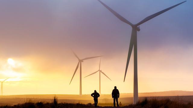 Elektriğin yüzde 12si rüzgar ve güneşten elde edildi
