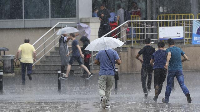 Marmara Bölgesinde kuvvetli yağış bekleniyor