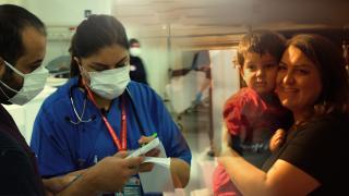 Ankara Şehir Hastanesi'nde COVID'le mücadele - 1. bölüm
