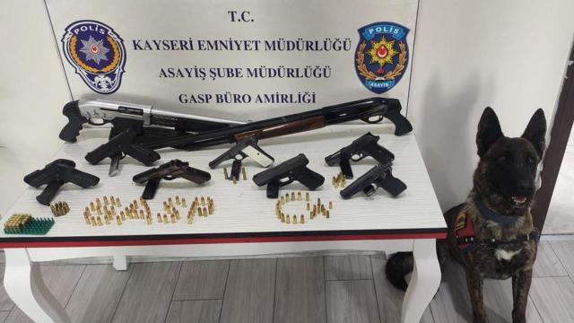Kayseride suç örgütü operasyonu: 13 gözaltı