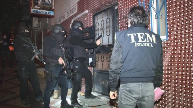 İstanbulda PKK/KCK operasyonu: 8 gözaltı