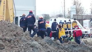 Ankara'da göçük altında kalan 2 işçi hayatını kaybetti