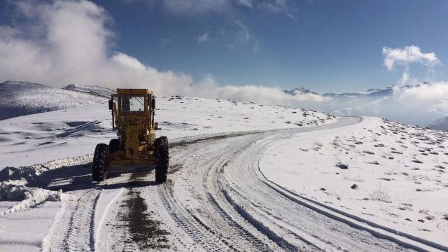 Doğu Anadoluda 4 ile kar uyarısı
