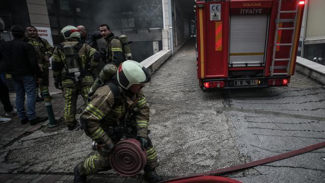Kastamonuda orman yangını kontrol altına alındı