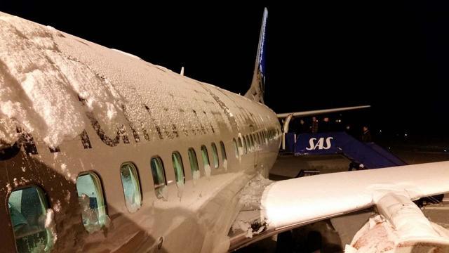 ABDde yüzlerce uçuş iptal edildi