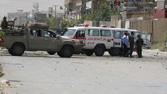 Afganistanda bombalı saldırı: 6 polis yaralandı
