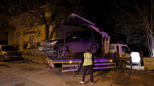 Ankarada ehliyetsiz ve alkollü sürücü kovalamaca sonucu yakalandı