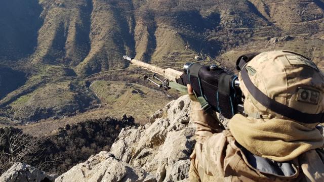 Yurt içindeki PKKlı terörist sayısı 320nin altına düştü