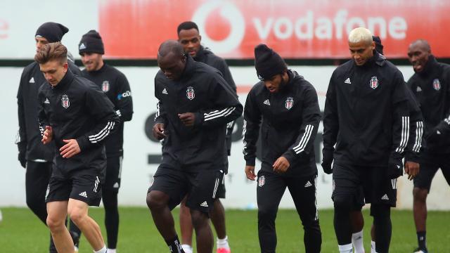Beşiktaş Tarsus İdman Yurdu maçına hazır