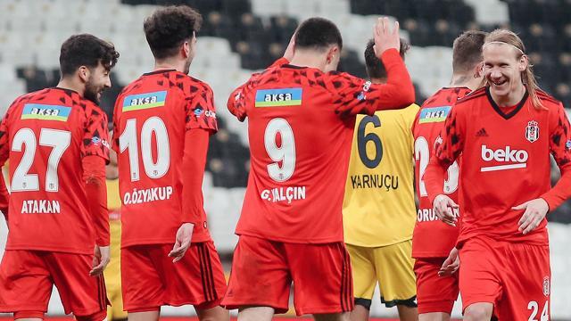 Beşiktaş turu rahat geçti
