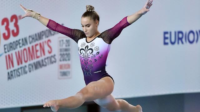Avrupa Kadınlar Artistik Cimnastik Şampiyonası başladı
