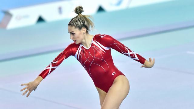Milli cimnastikçiler finale kaldı