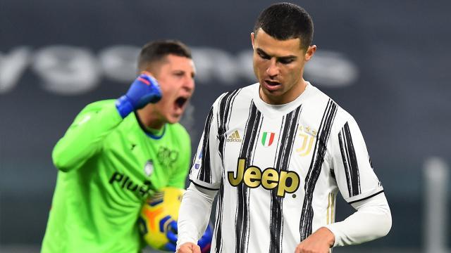 Ronaldo penaltıyı Juventus galibiyeti kaçırdı