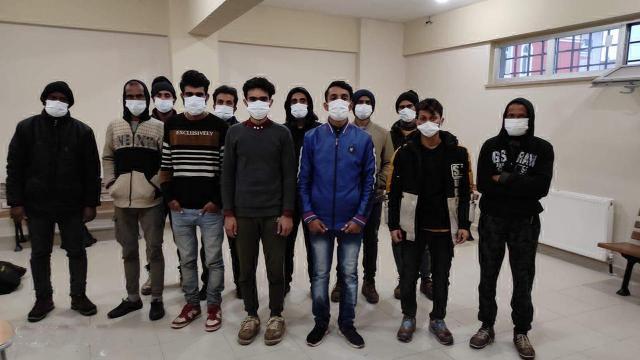 Kocaelide, 12 düzensiz göçmen yakalandı