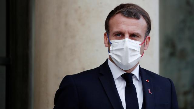 Macron koronavirüse yakalandı
