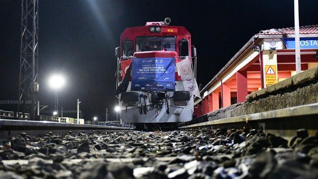 Türkiyenin ihracat treni Çine ulaştı