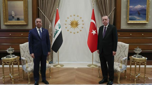 Irak Başbakanı Kazımi Ankarada
