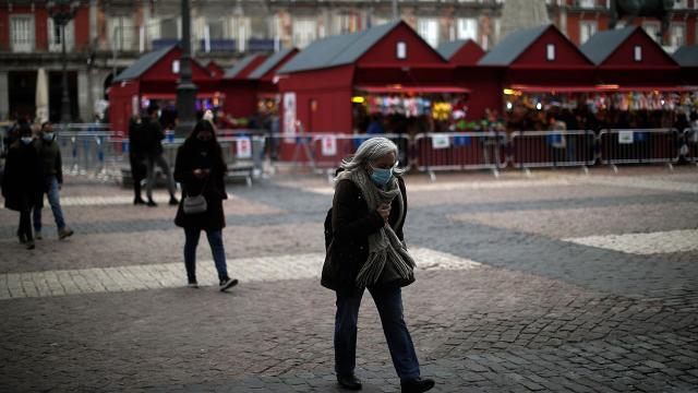 İspanyada son 24 saatte 492 can kaybı