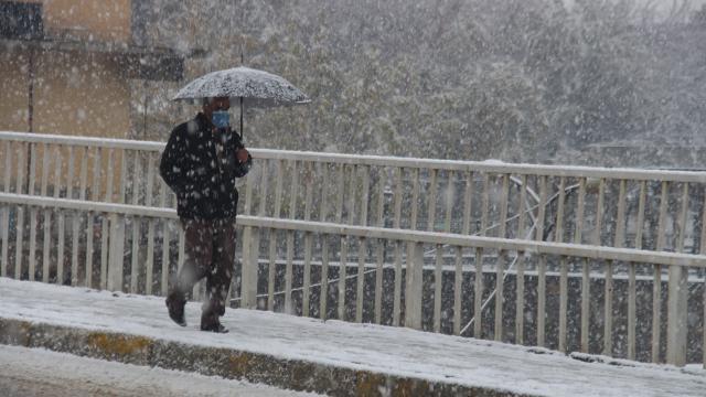 İzmir için fırtına ve kar uyarısı