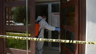 Kastamonu'da bir apartman karantinaya alındı
