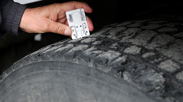 875 araç sürücüsüne zorunlu kış lastiği cezası