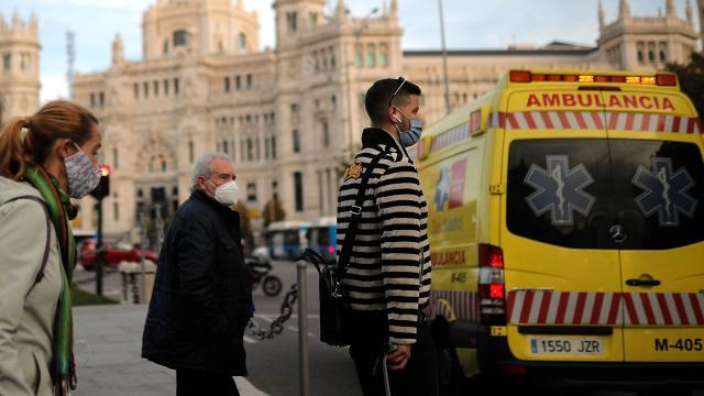 İspanyada son 24 saatte 12 bin 131 yeni vaka