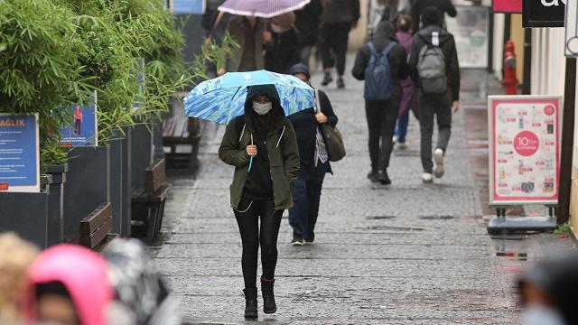 Samsun için kuvvetli yağış uyarısı
