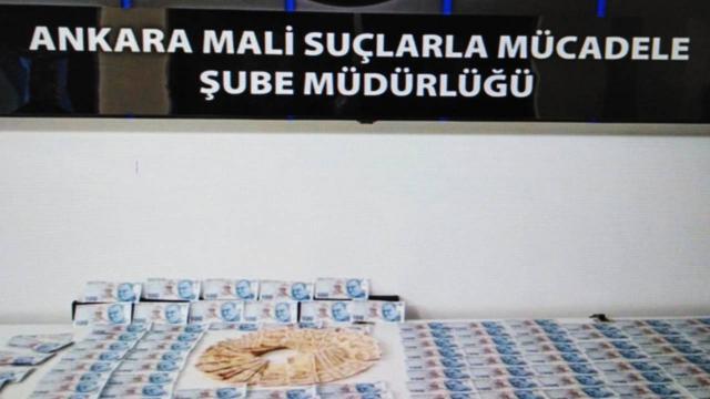 Ankarada piyasaya sahte para süren zanlı tutuklandı