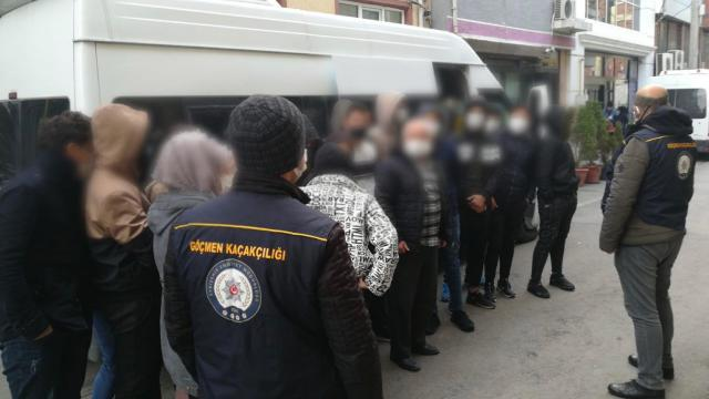 Eskişehirde 28 sığınmacı yakalandı