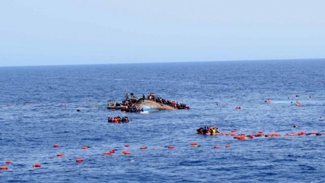 Cibutide göçmen teknesi alabora oldu: 34 ölü