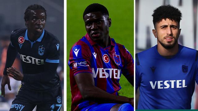 Trabzonsporda 3 futbolcu kadro dışı bırakıldı